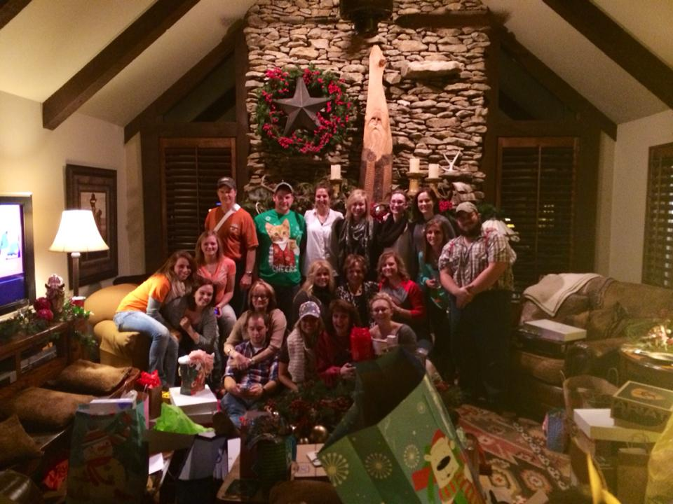 Annual Christmas Party at St. Joe Boot
